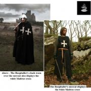 The Hospitaller Surcoat - Wool